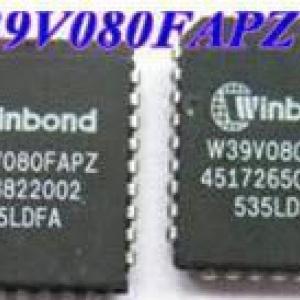 Winbond W39V080 (PLCC32) 8M-BIT LPC FLASH