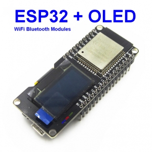 Lolin ESP32 OLED wemos ESP32 OLED WiFi and Bluetooth Modules