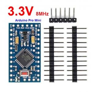3.3V/8MHz Arduino Pro mini ATMEGA328P