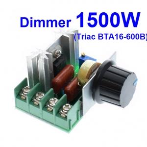 เครื่องหรี่ไฟ 1500W (Dimmers) (BTA16-600B)