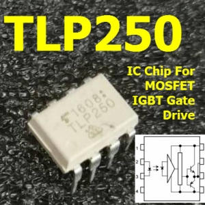 TLP250 IC Chip For MOSFET IGBT Gate Drive