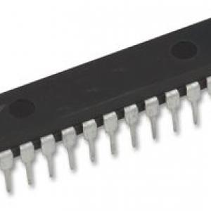 ATMEGA8-16PU (DIP28) AVR MCU ISP Flash 8KBytes, 1KBytes RAM 512Bytes EEPROM, 16MHz, 8-Ch/10-Bit ADC