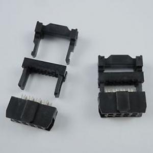 2x4pin IDC Socket Female (Pitch 2.54mm)