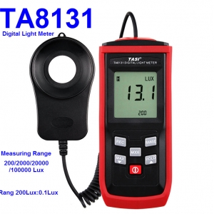 TA8131 100000 Lux split Digital LCD backlight Pocket Light Meter Lux/FC Measure Tester Visible brightness luxmeter
