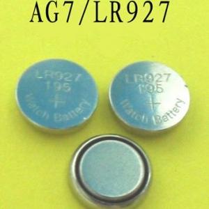 ถ่านกระดุม AG7,LR927 (1.5V) Alkaline Button Cell