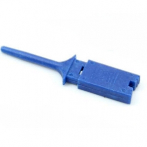 Test Clip Mini Grabber SMD IC Hook Probe Jumper (BLUE)