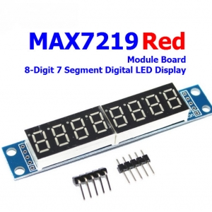 MAX7219 8 Digit 7 Segment Display Module (RED)