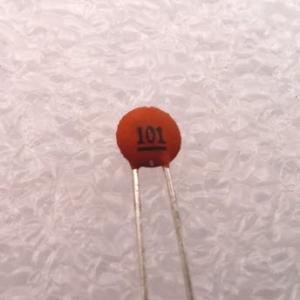 Ceramic Disc Cap 101 100pF/50Vdc, ±5%