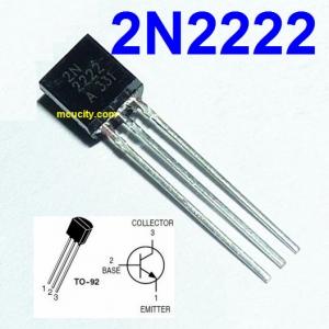 2N2222 PN2222A TO-92 NPN 40V 0.8A
