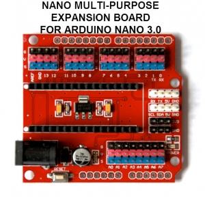 Nano Multi-purpose Expansion Board 14 I/O (Sensor shield ) for arduino Nano