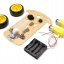 2WD Smart Car Chassis Kit Tracing Car With Speed Encoder 1:48 for Arduino thumbnail 3