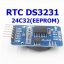 RTC DS3231 AT24C32(EEPROM) I2C Module Precision Clock Module รวมแบต CR2032 thumbnail 1