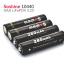 4 pieces/lot Soshine 10440 battery 3.2V 280mAh LiFePO4 thumbnail 2