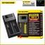 เครื่องชาร์จแบตอัจฉริยะ Nitecore NEW I2 Intellicharger Universal Battery Charger for AA AAA Li ion 26650 18650 Batteries Charging thumbnail 1