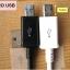 สาย Micro USB (B) Programming Cable BLACK (100cm) ยาว 1เมตร สีดำ thumbnail 2