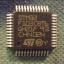 STM32F103CB (LQFP48) Cortex M3 128K 20KB RAM 2X12 ADC thumbnail 1