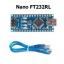 Arduino Nano V3.0 controller ATMEGA328P original FT232RL +USB cable thumbnail 1