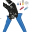 CNLX SN-02C crimping pliers european style terminal clamp self-adjusting capacity 0.25-2.5mm2 14-24AWG perfect crimp hand tools thumbnail 2
