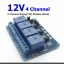 4-Channel Relay(12V) Module Shield for Arduino ARM PIC AVR DSP Electronic thumbnail 1