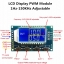 Signal Generator PWM Pulse Frequency Duty Cycle Adjustable Module LCD Display 3.3V-30V 1Hz-150Khz PWM Board Module thumbnail 1