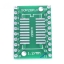 SOIC20 SOP20 SSOP20 TSSOP20 to DIP20 PCB SMD DIP/Adapter plate Pitch 0.65/1.27mm thumbnail 3