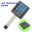 4x3 Membrane Switch Keypad Keyboard 3*4 Control Panel Keyboard for Arduino 12 Keys thumbnail 1