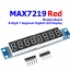 MAX7219 8 Digit 7 Segment Display Module (RED) thumbnail 1