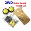 2WD Smart Car Chassis Kit Tracing Car With Speed Encoder 1:48 for Arduino thumbnail 1
