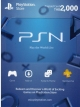PSN Card Thai 2000 THB