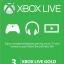 Xbox Live Gold Membership US 3 month thumbnail 1