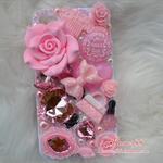เคสไอโฟน 5/5s (Case Iphone 5/5s) ( เคสไอโฟน Anna Sui ) สีชมพู