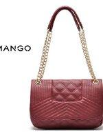 พร้อมส่ง ::BM021:: กระเป๋าแฟชั่น MANGO สีแดง