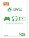 Xbox Gift Card 25 US