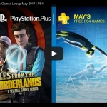 PSN Plus US - Free Games for May 2017