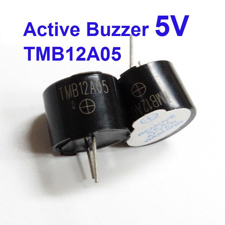 10 x 5V Electromagnetic Active Buzzer