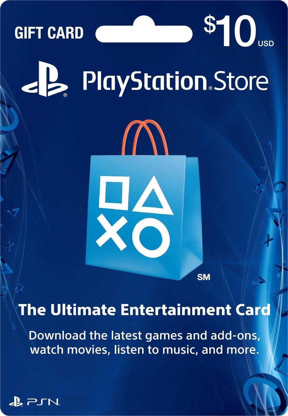 PSN Card 10 US